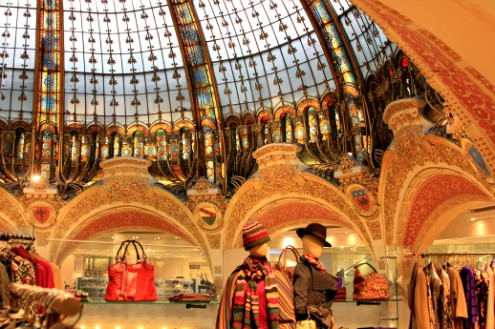Galeries Lafayette Dome - ShesCookin.com