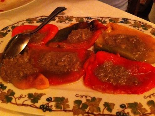 Bagna Cauda con peperoni alla griglia