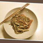Noodles carne e verdure