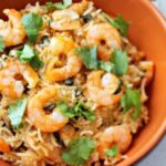 India: Shrimp Pulao