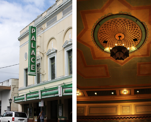 The Palace Theater in Historic Downtown Hilo - photos by Denise Sakaki