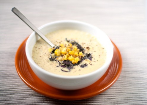 Zuppa dolce al mais