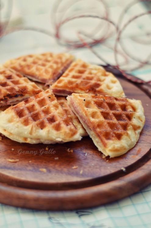 Crunchy Waffles - Genny Gallo