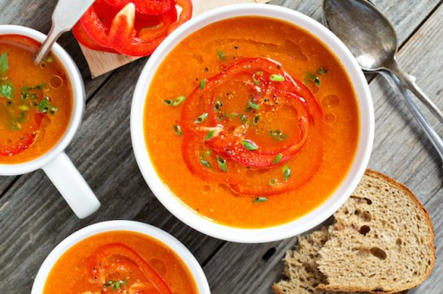 Zuppa di peperoni