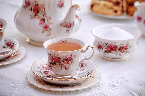 La perfetta tazza di tè
