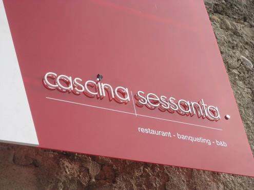Cascina Sessanta - Insegna