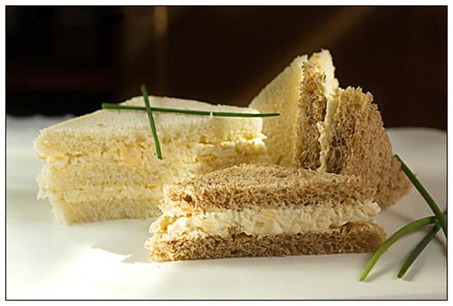 Sandwich con insalata di uova