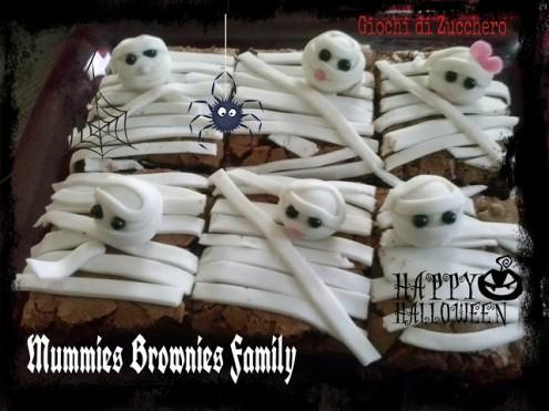Mummies brownies