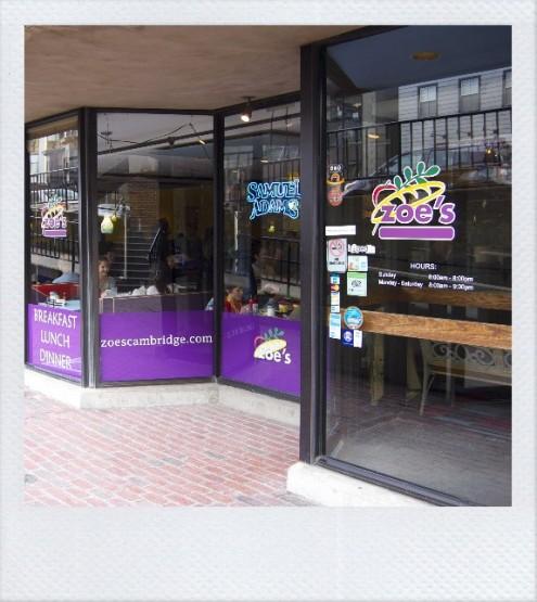 Zoe's (Boston,MA)