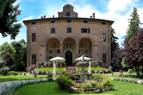 Villa Malvezzi a bagnarola di Budrio, Bologna sede di casa Emilia-Romagna