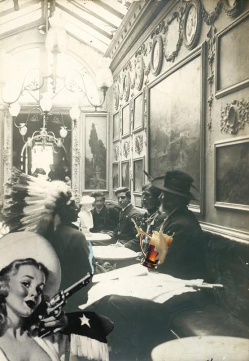 Buffalo Bill al Caffe Greco di Roma