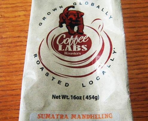 Sumatra Mandheling della Coffee Labs Roaster