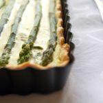 Tart di asparagi e ricotta