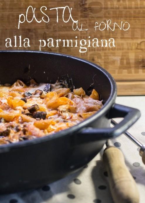 Pasta al forno alla parmigiana