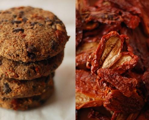 Burgers di Pomodori secchi e fagioli Adzuki