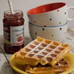Waffles alla vaniglia per UnLampoNelCuore