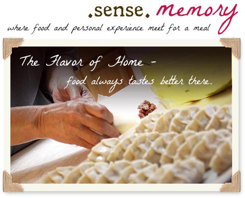 Sense Memory: Il sapore di casa