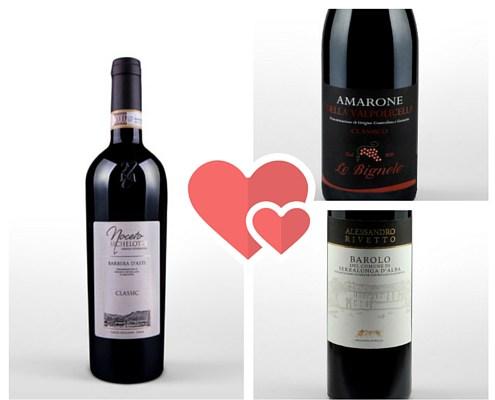 Il Vino per San Valentino