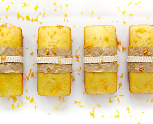 Pound Cake all'arancia