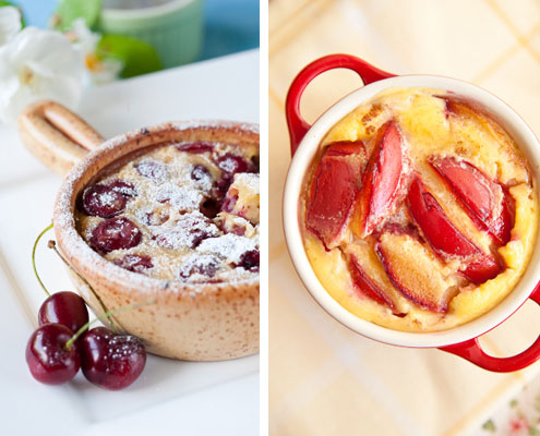 Clafoutis Honest Cooking