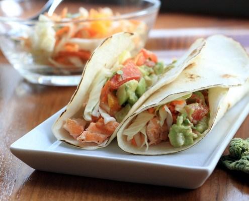 tacos salmone