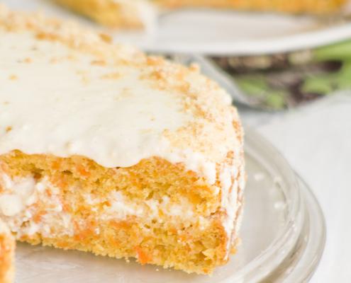 La classica torta alle carote