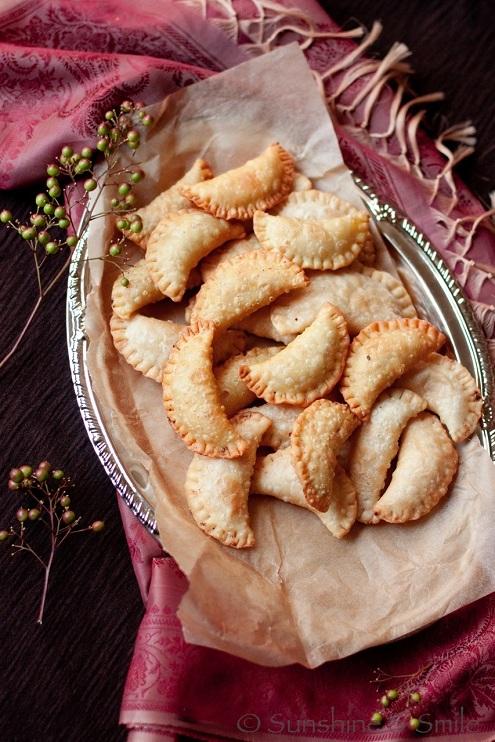 Mawa Gujiya - un dolce tradizionale delle festività indiane