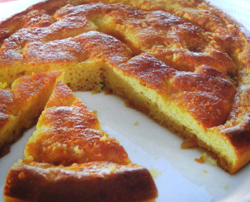 La Torta-Brioche allo Zucchero del Nord della Francia
